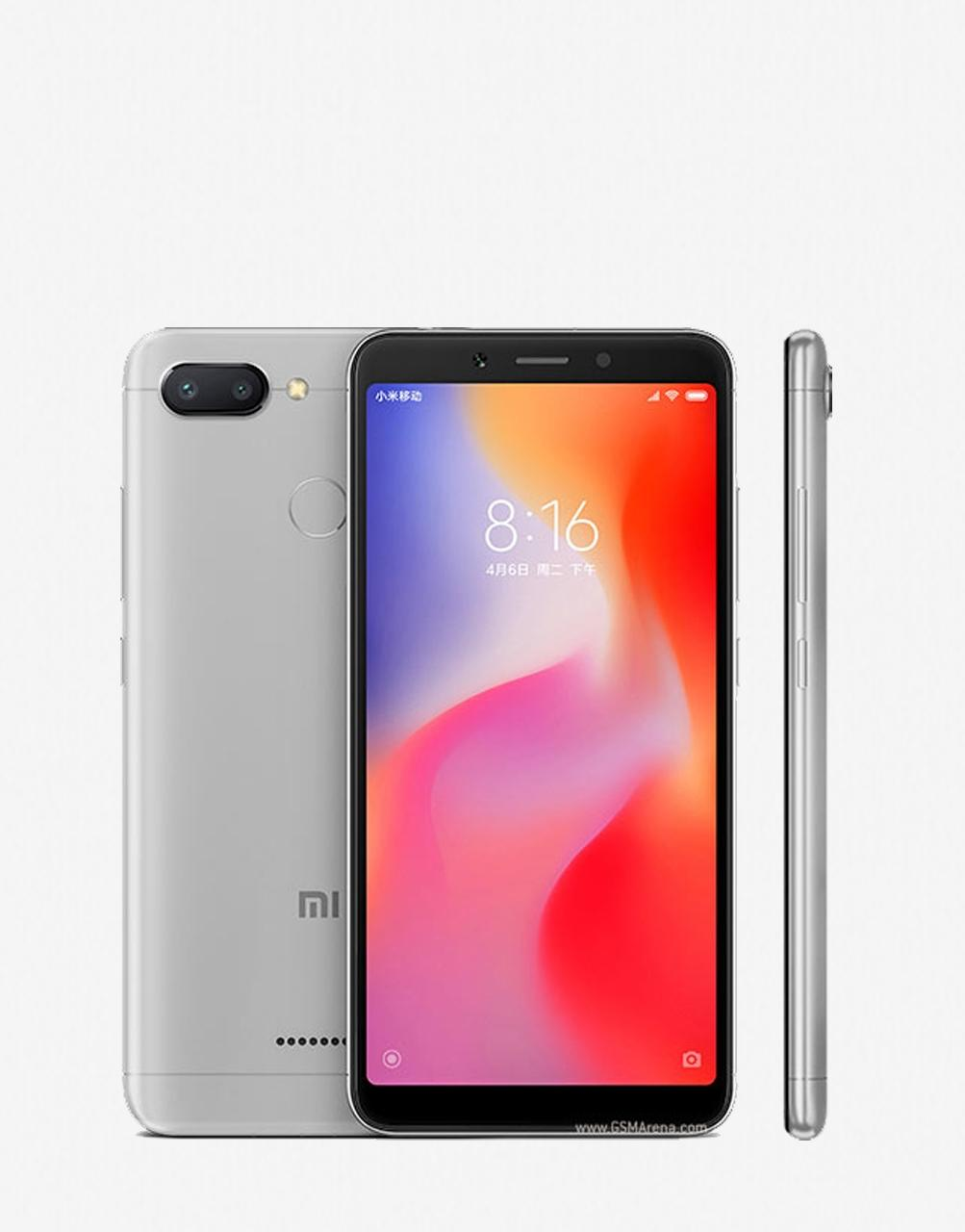 cb41b260cec Xiaomi Redmi 6 Gray 64GB. Memory   4GB Ram Mobile Phones Price in ...