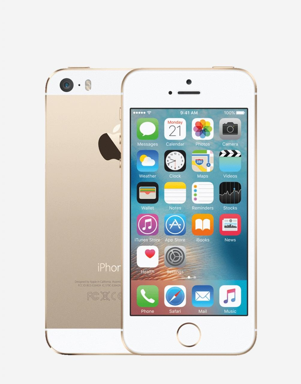 Apple iPhone - 5S Gold 64GB. Memory & 1GB Ram Demo phones ...